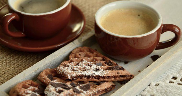 Šokolado-riešutų vafliai