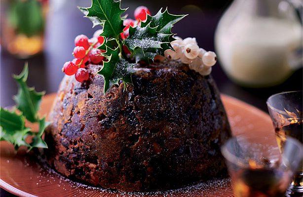 Tradicinis Kalėdų pudingas