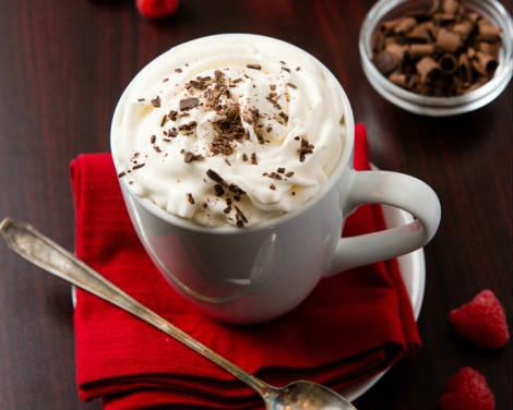 Tikras rudens gėrimas — aviečių kava
