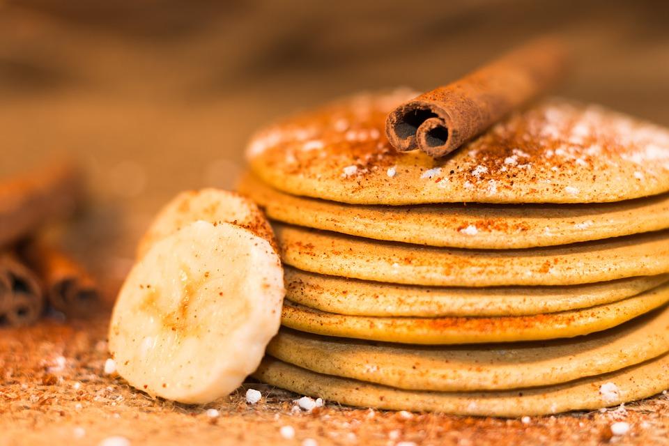 3 ingredientai: pasakiški bananų blynai