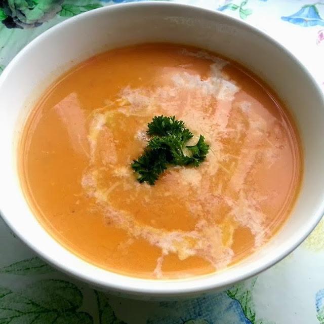 Moliūgo-paprikų sriuba