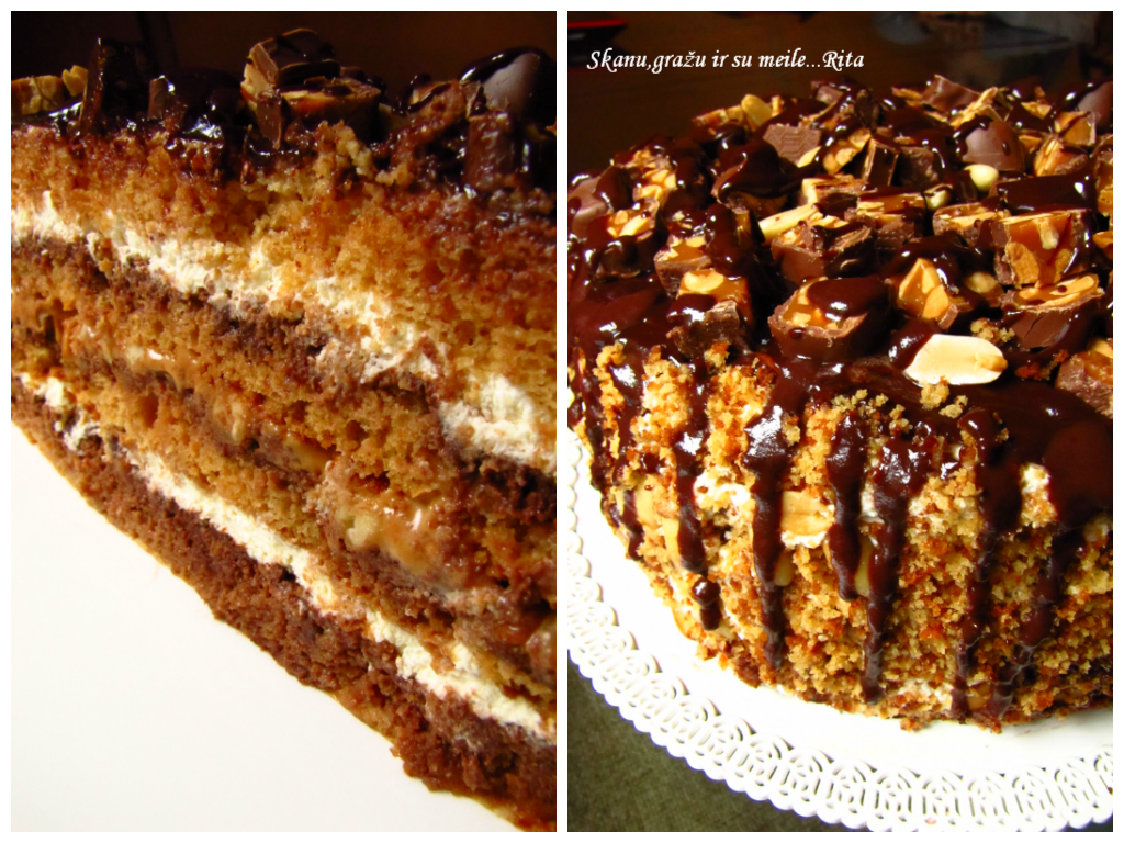"Tortas ""Snickers"""