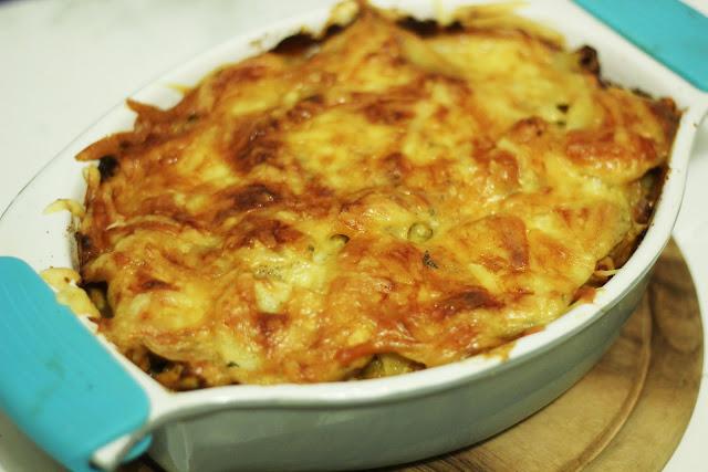 Bulvių-mėsos apkepas