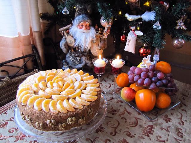 Medaus tortas su želė