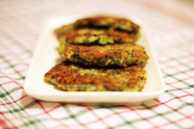 Brokolių blyneliai