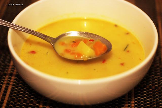 Žirnių sriuba rytietiškai