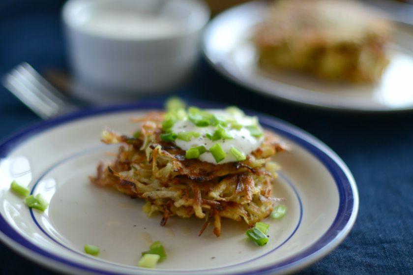 Bulvių ir salierų blyneliai
