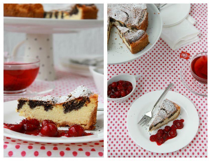 Varškės pyragas su aguonomis