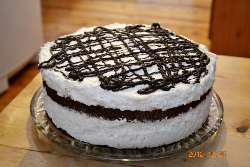 Grietinėlės tortas arba Užteks visiems
