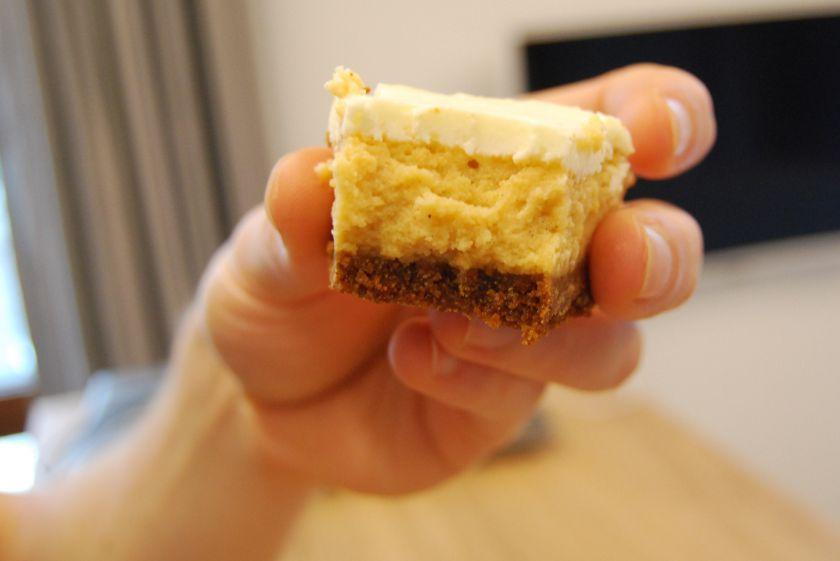 Saldžių bulvių sūriopyragas