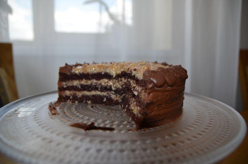 Šokoladinis vokiškas tortas