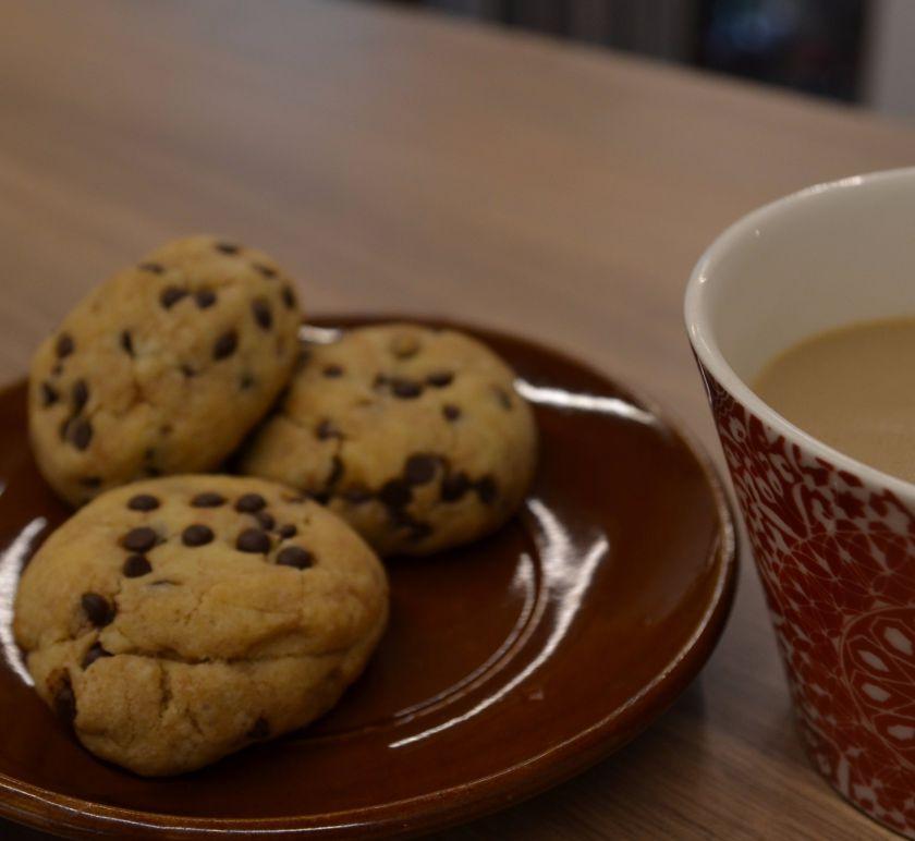 Tradiciniai sausainiai su šokoladogabalėliais