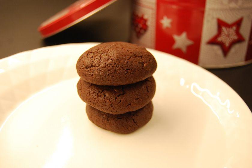 Dvigubai šokoladiniai sausainiai