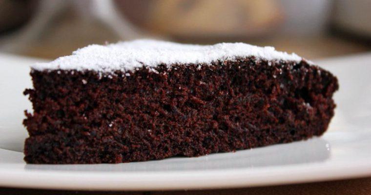 Veganiškas kakavinis pyragas