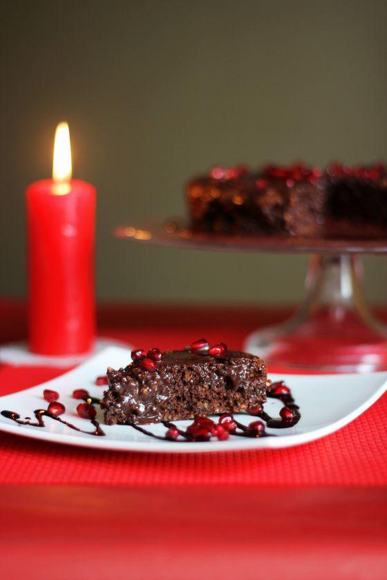 Šokoladinis pyragas su šokoladiniuglajumi