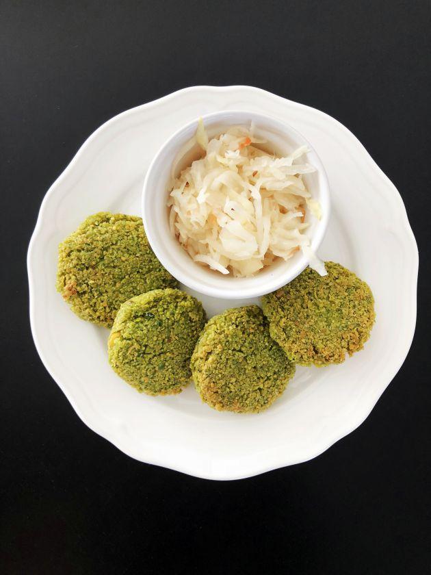 Falafeliai (su špinatais)