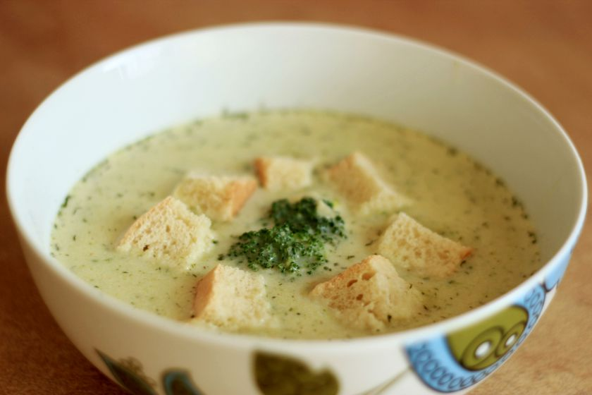 Brokolių ir sūriosriuba