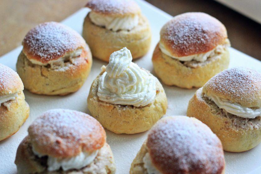 Švediški pyragačiai –Semla