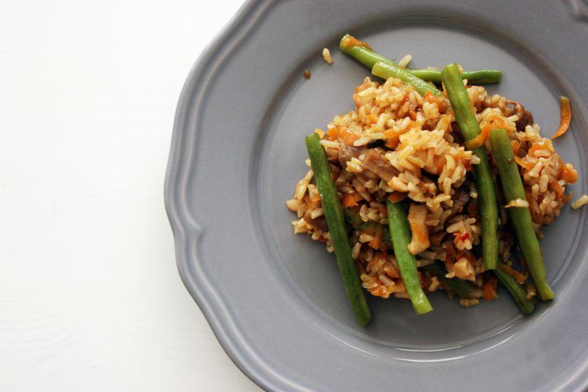Rytietiškas ryžių troškinys