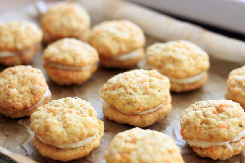 Morkų sausainiai supertepimu