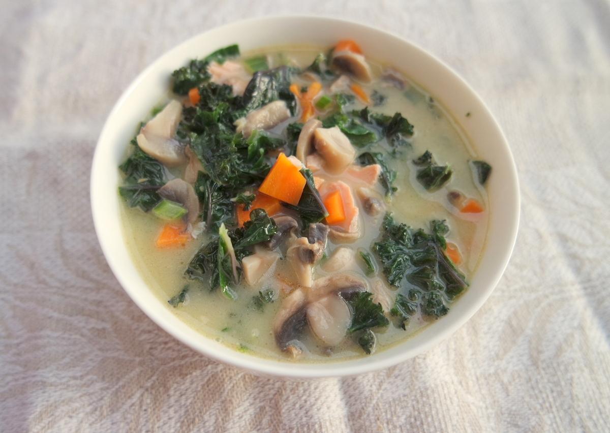Lapinių(kale) kopūstų sriuba
