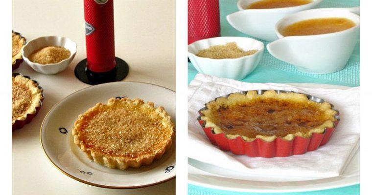 Crème brûlée tartaletė