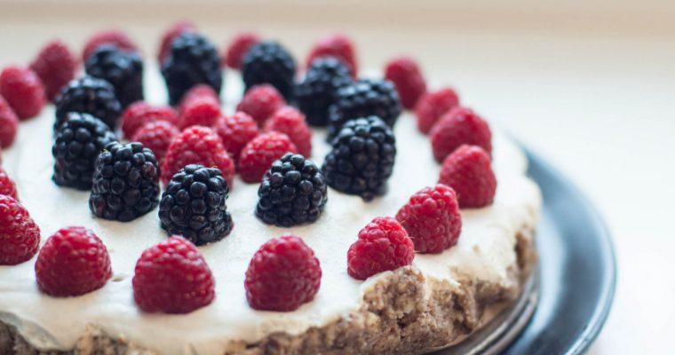 Taip, tai įmanoma – vegan gluten-free tortas!