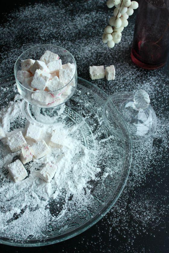 Vaniliniai zefyrai (marshmallows)