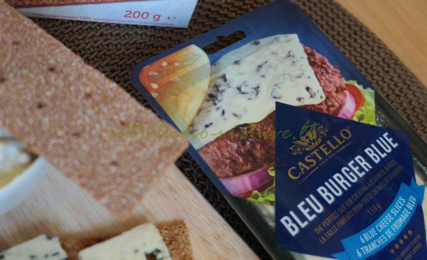 Padažas su mėlyno pelėsio sūriu
