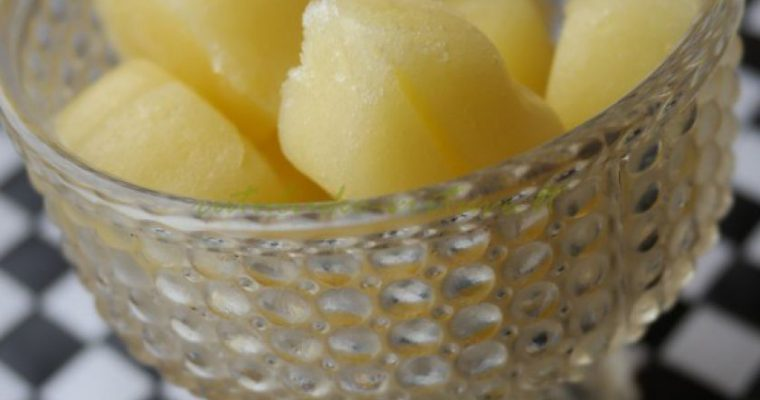 Ananasų  melionų šerbetas