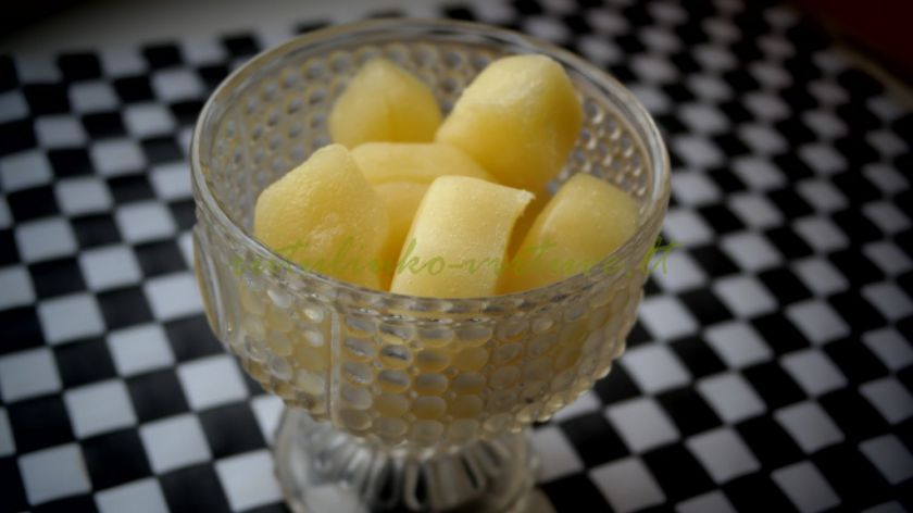 Ananasų – melionų šerbetas