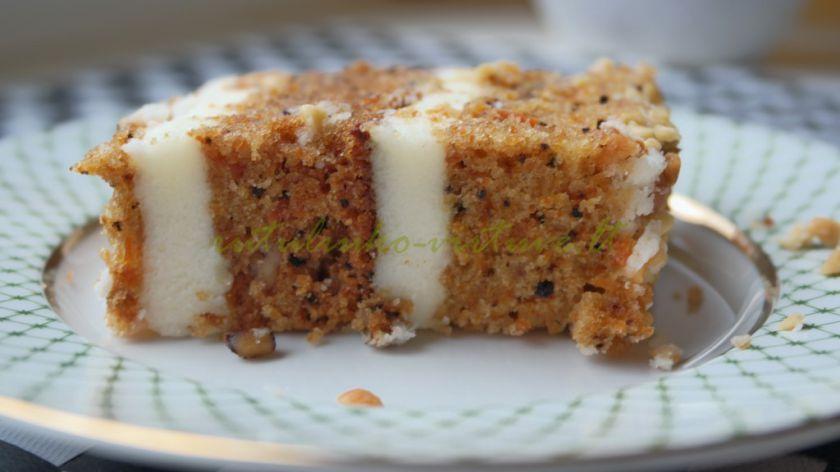 Morkų pyragas-tortas