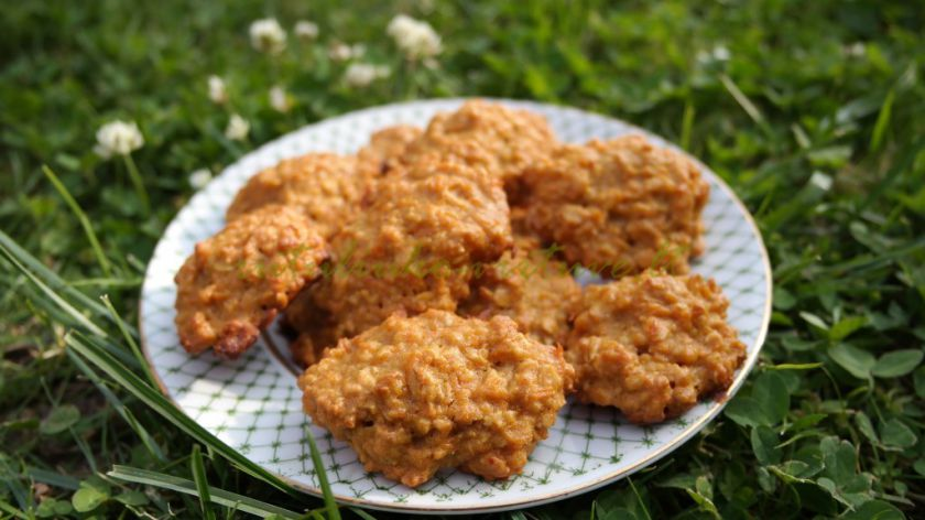 Avižiniai sausainiai su morkomis