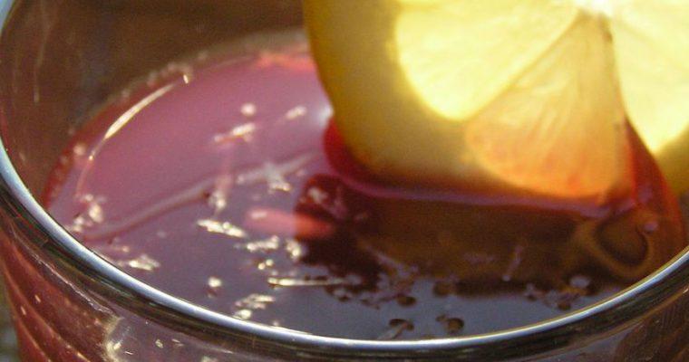 Tradicinis ispanų gėrimas Sangria pagal Rutuliuką