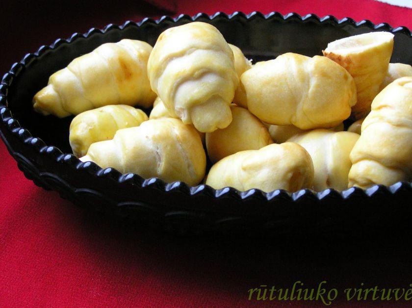 Sausainiai su kriaušėmis ir/arba marmeladiniais saldainiais