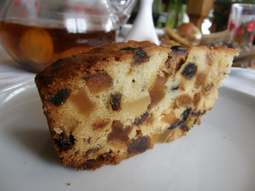 Kalėdinis vaisių pyragas(gaminti iš anksto!)