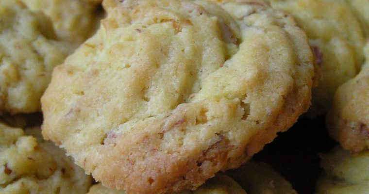 Apelsininiai sausainiai [Polvorones de naranja]