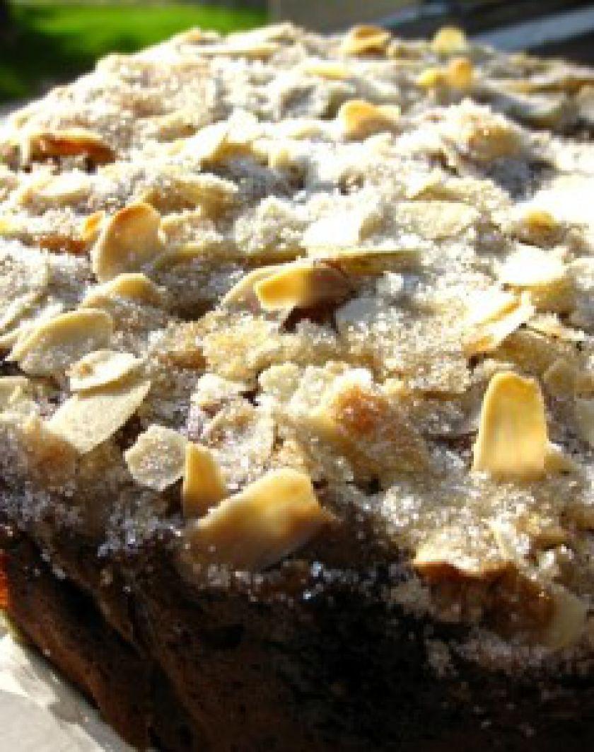 Grietininis rabarbarų pyragas