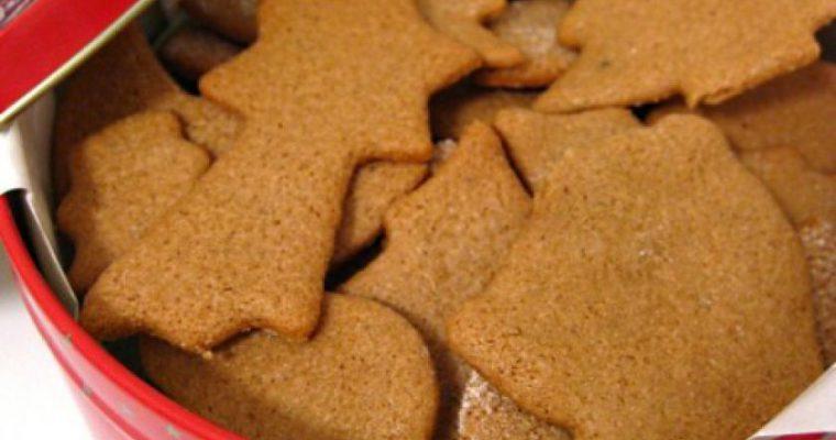 Kalėdiniai imbieriniai meduoliukai