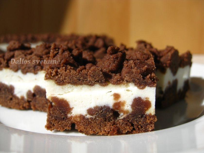 Kakavinis pyragas su varške