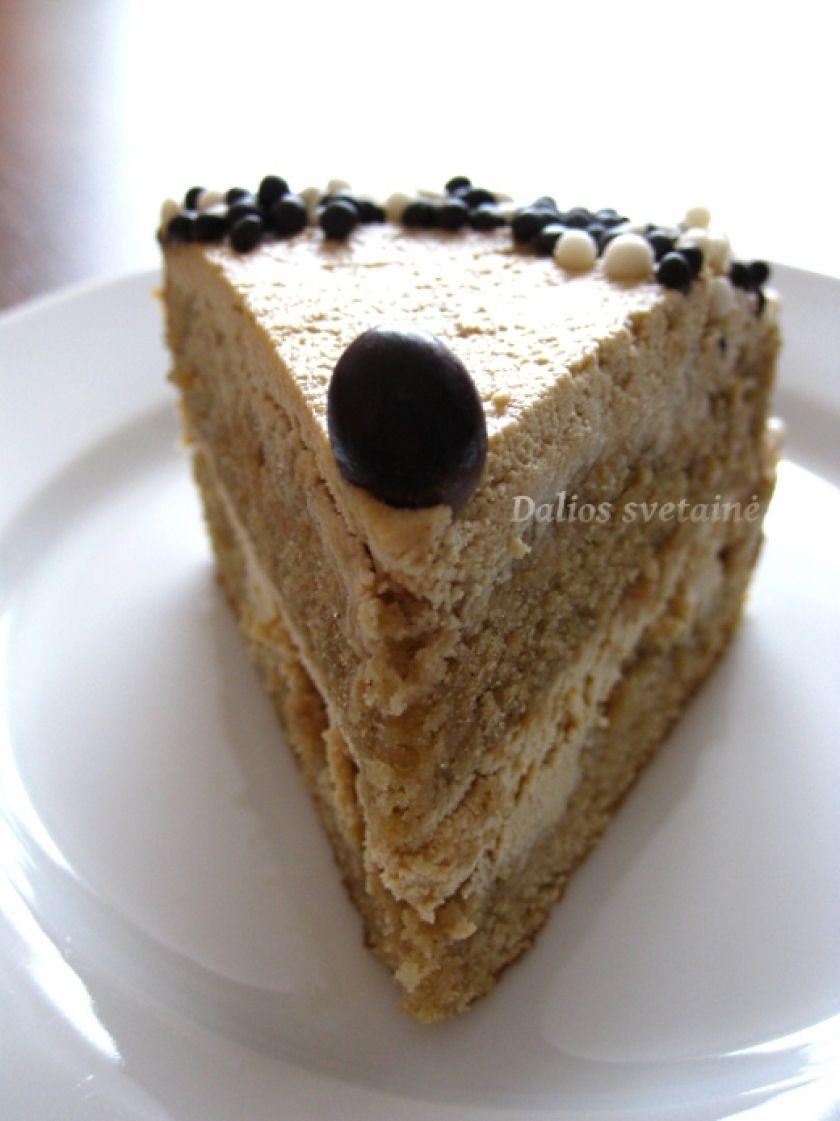 Dalios kavos tortas