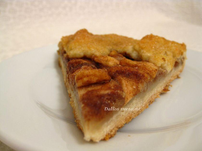 Prancūziškas obuolių pyragas – Galette