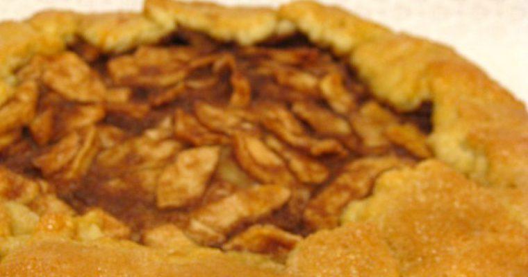 Prancūziškas obuolių pyragas Galette