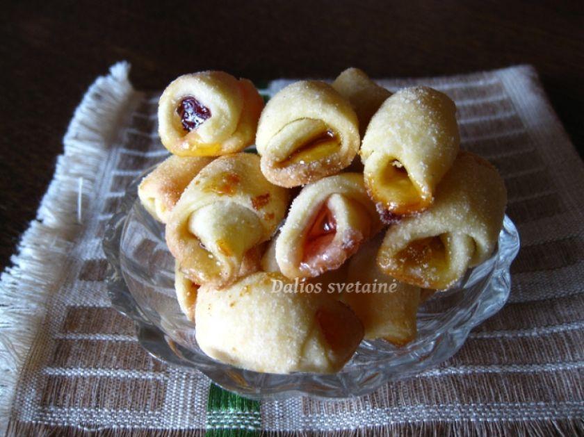 Sausainiai su saldainiais