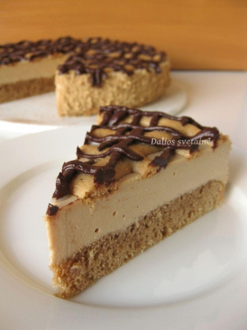 """Kavos suflė tortas """"Kardè"""""""