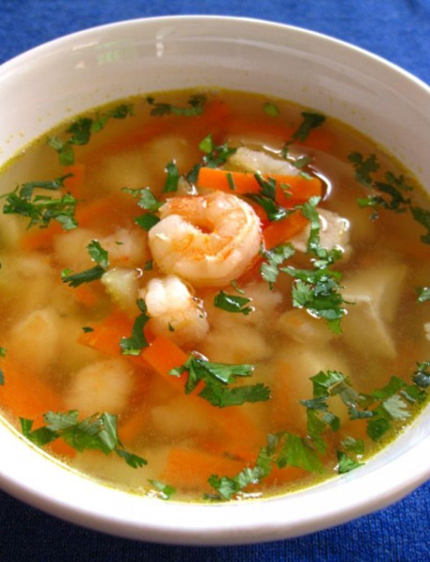 Vietnamietiška sriuba su krevetėmis
