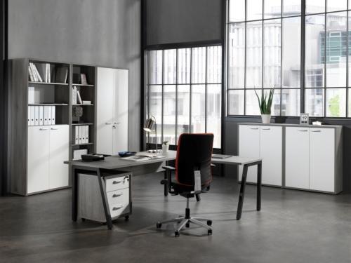 Kaip išsirinkti spintas biurui?