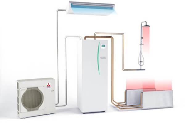 Ką daryti norint įsirengti oras-vanduo šildymo sistemą?